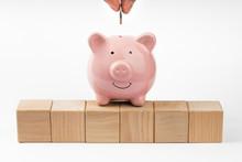 Piggy Bank, Concept Of Saving