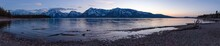 Amazing Sunset At Colter Bay Pebble Beach In Grand Tetons National Park