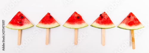 Poster Pays d Europe Watermelon popsicles