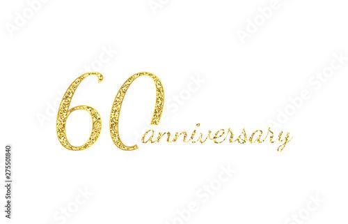 Valokuva  60 anniversary logo concept