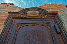 Old Remnant Bank Vault Door