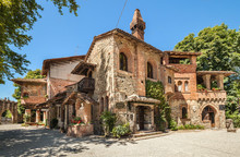 Grazzano Visconti Village In I...