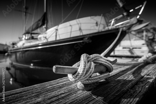 Canvas Prints Ship Sail Away