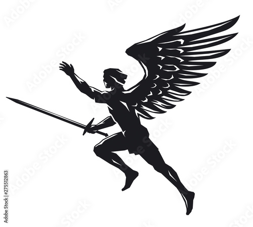 Photo Angel with sword