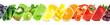 Leinwandbild Motiv Fruits and vegetables