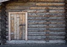 A Traditional Finnish Log Cabin (Hirsimökki). A Classical Look Indeed For A Finnish Summer Cabin.