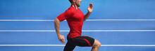 Athlete Runner Man Sprinting I...