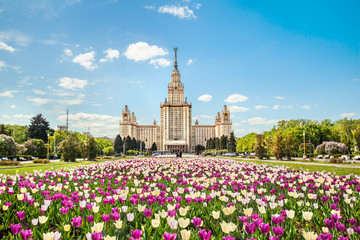 Main building of Lomonosov Moscow State University