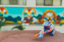 Frog Alebrije: Mexican Folk Ar...