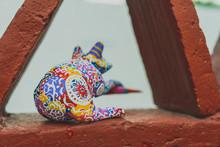 Frog Alebrije: Mexican Folk Art Craft