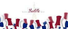 Bastille Day, Card, Banner Or ...