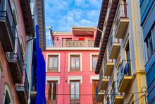Granada Streets And Spanish Architecture In A Scenic Historic City Center