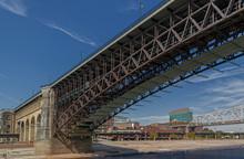 Historic Eads Bridge Over Miss...
