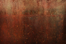 Rusty Metal Cooper Texture Bac...