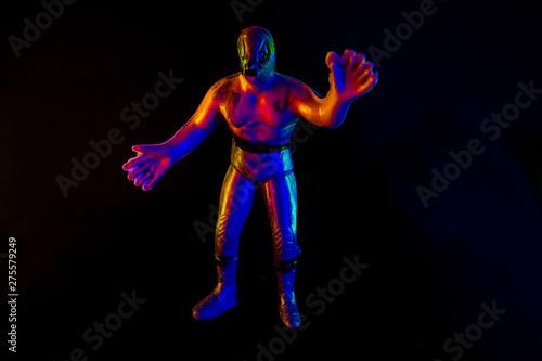 Photo Luchador de jugete tipico de mecxico