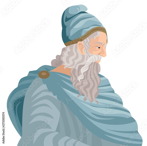 Photo archimedes of syracusa ancient genius mathematician inventor