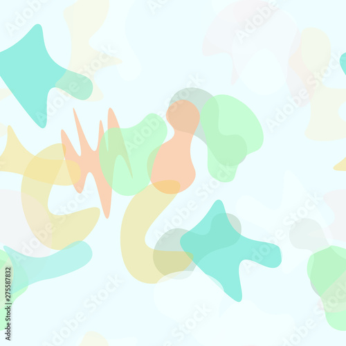 Camouflage Seamless Pattern. Military Camouflage Canvas Print