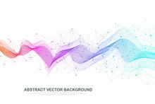 Abstract Plexus Background Wit...
