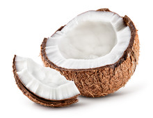 Coco. Coconut Half And Piece I...