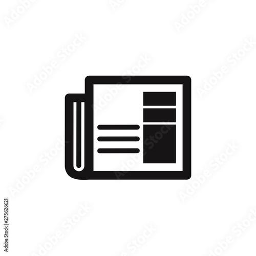 Fotografie, Obraz  Newspaper icon