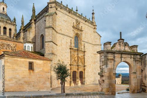 Cathedral of Santa Maria de la Asuncion in Coria, Caceres, Extremadura, Spain Wallpaper Mural