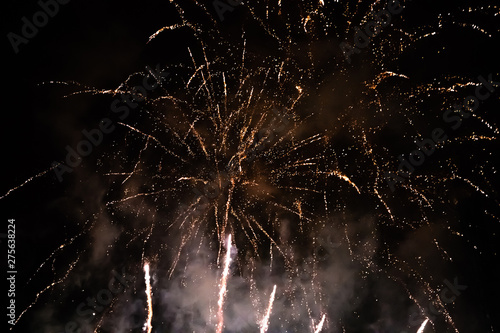 Photo  Firework in Tivoli, Copenhagen