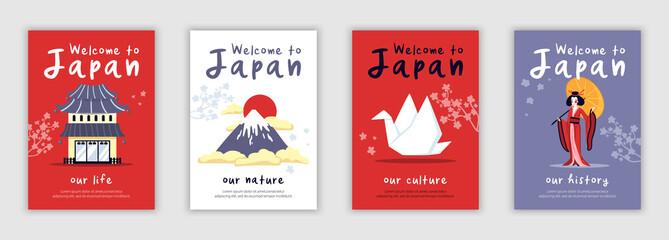 Japan Poster Set