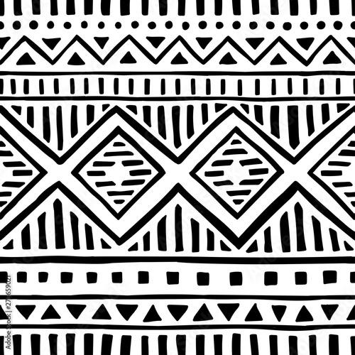 Photo Seamless ethnic pattern