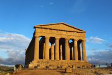 Ancient Temple Of Concord In T...