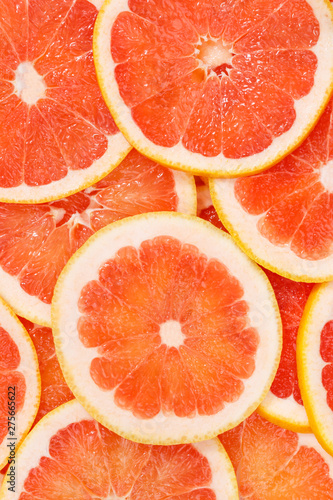 Grapefruits citrus fruits grapefruit portrait format collection food background fresh fruit