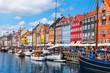 canvas print picture - Kopenhagen
