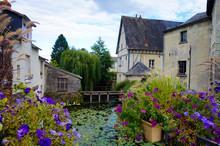 A Village Pond In France