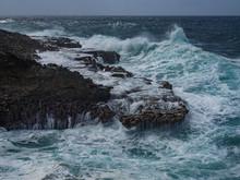 Crashing Waves At Shete Boka N...