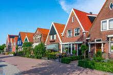 Volendam, Niederlande, Innenstadtszene