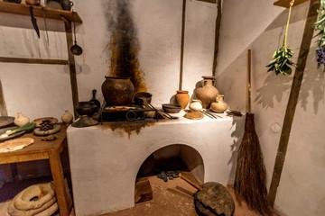 Stara kuchnia z poprzedniego wieku