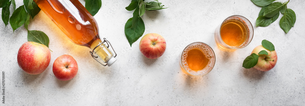 Fototapety, obrazy: Apple cider drink