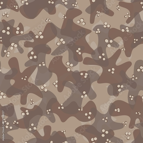 Photo  Texture military camouflage seamless pattern