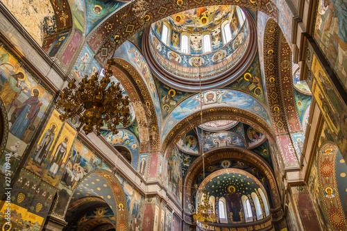 Obraz na plátně New Athos Monastery. Abkhazia