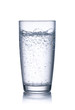 Leinwandbild Motiv glass of mineral water