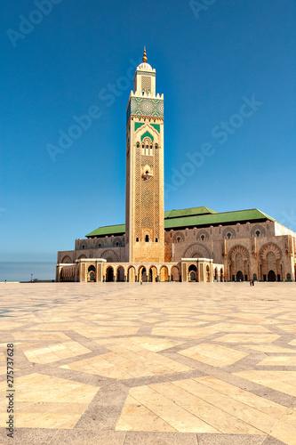 Spoed Foto op Canvas Marokko Casablanca Mosque Hassan-II