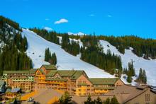 Winter Park Ski Area In The Colorado Rockies