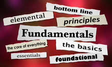 Fundamentals The Basics Founda...