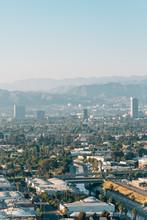 View From Baldwin Hills Scenic Overlook, In Los Angeles, California