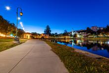 Blue Hour At Lake Merritt