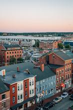 Cityscape View Of Portland, Ma...
