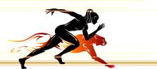 Super Human Speed, Female Runner