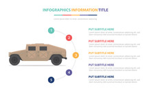 Suv War Tank Infographic Templ...