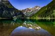 Oberstdorf Berge Alpen Panorama See Spiegelung Wandern