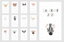 Calendar 2020. Creative Calend...
