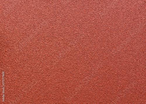 Red abrasive sandpaper seamless grunge surface. Wallpaper Mural